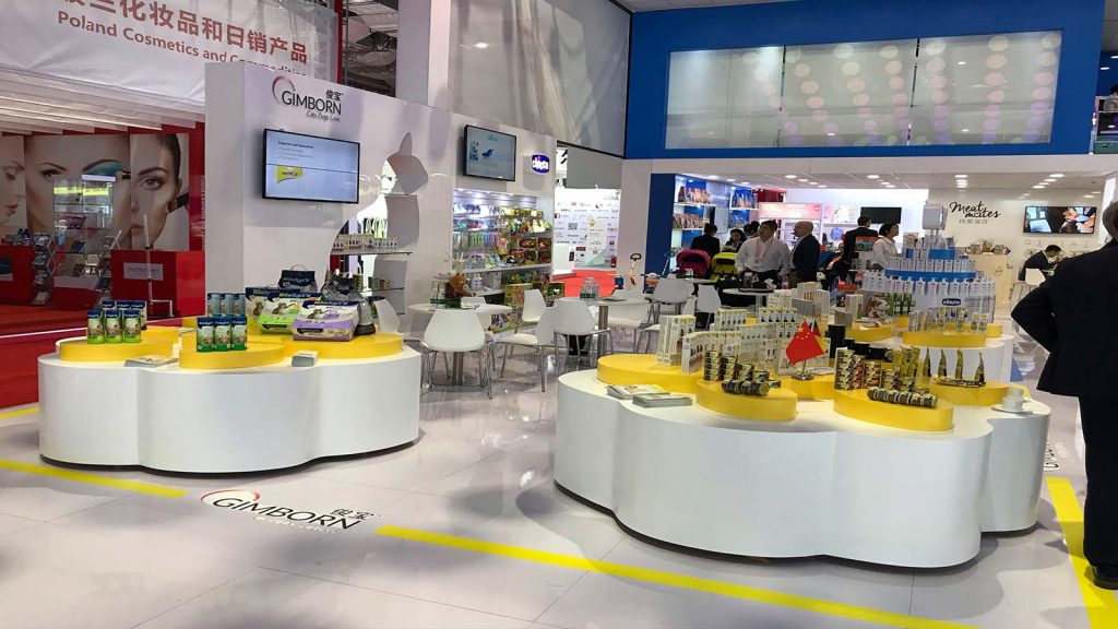 H. von Gimborn at China International Import Expo