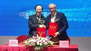 with 5Ctong Group, new official importer of H. von Gimborn products in China